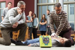utilisation du Défibrillateur ZOLL AED 3 en situation